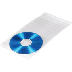 Конверты Hama H-51095 для CD/DVD 100 шт (прозрачный)
