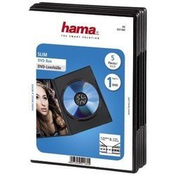 ������� ��� DVD ������ �� 5 �� (Hama H-51180 Slim Box) (������)