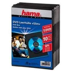 Коробка Hama H-51181 Slim для 1DVD 10 шт (черный)