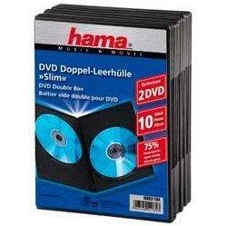 ������� Hama H-51184 Slim Double ��� 2�DVD 10 �� (������)