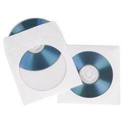 Конверты для CD/DVD дисков 50 шт (Hama H-62671) (белый)