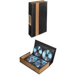 Коробка-альбом Hama H-78386 для 56 CD (черный/коричневый)