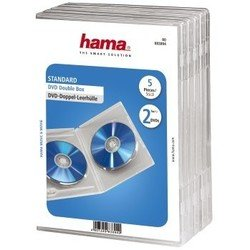 ������� ��� DVD ������ 5 � 2 �� (Hama Jewel Case H-83894) (����������)