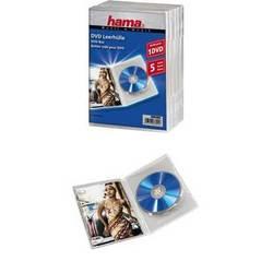 Коробка Hama H-83895 Jewel Case для 1х DVD 5 шт (прозрачный)