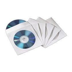 Конверты Hama H-83985 для 2 CD/DVD 50 шт (белый)