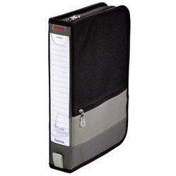 Портмоне Hama H-84146 Office для 64 CD (черно-серый)