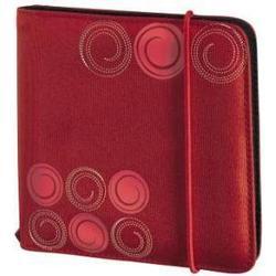 Портмоне Hama H-95669 Up to Fashion для 24 CD/DVD (красный)