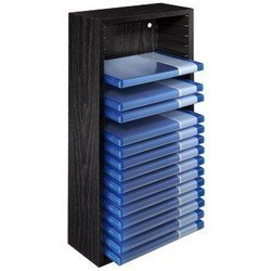 Стойка Hama H-96125 для 20 дисков Blu-ray (черный)