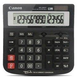 Калькулятор Canon WS-260 TC (черный)
