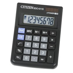Калькулятор Citizen SDC-011S (черный)