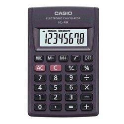 Калькулятор Casio HL-4A (серый)