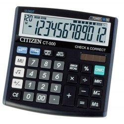Калькулятор Citizen CT-500J (черный)