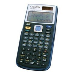 Калькулятор научный Citizen SR-270X (черный)