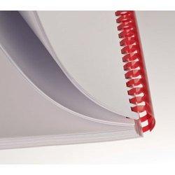 Пластиковые пружины для переплета 35 мм (Buro BU-314) (красный) (50 шт.)