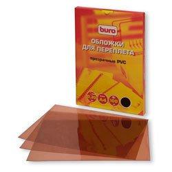 ������� Buro BU-PVC020br A4 ���������� PVC 200��� 100��