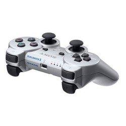 Контроллер беспроводной Sony PlayStation 3 Dualshock 3 серебро (PS719256137)