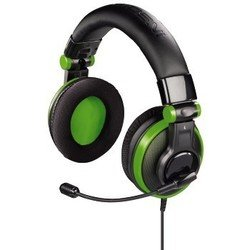 Гарнитура Hama H-51789 Наушники с микроф. Insomnia стерео полноразм для Xbox360 зелен/черн
