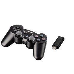Контроллер Hama H-51825 Black Force беспроводной для SONY PS3 черный