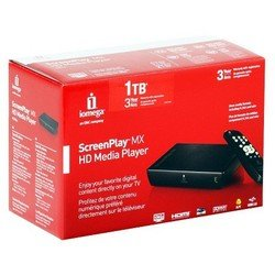 медиаплеер iomega 1tb [35030] screenplay mx fullhd hdmi component vid s/pdif