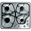 Hansa BHGI63100012 (серебристый) - Варочная поверхностьВарочные панели<br>Газовая варочная панель, поверхность из нержавеющей стали, 4 газовые конфорки, переключатели поворотные, электроподжиг, независимая установка, панели конфорок – серебристый.<br>