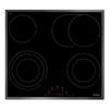 Hansa BHC63906 (черный) - Варочная поверхностьВарочные панели<br>Тип панели: электрическая, установка: независимая, всего конфорок 4, материал панели: стеклокерамика, расположение панели управления: спереди.<br>