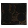 Hansa BHC63505 (черный) - Варочная поверхностьВарочные панели<br>Электрическая варочная панель, стеклокерамическая поверхность, керамические конфорки, двухконтурная конфорка, переключатели сенсорные, защита от детей, индикатор остаточного тепла, независимая установка.<br>