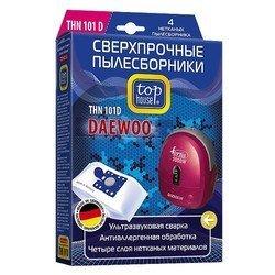 Пылесборник для мешковых пылесосов DAEWOO, ELENBERG, BORK, SCARLETT (TOP HOUSE THN 101D) (4 шт)