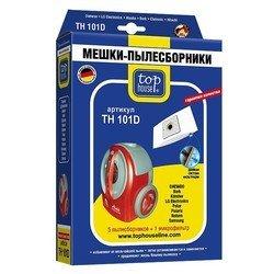 Пылесборники 5 шт. +  1 микрофильтр для мешковых пылесосов Daewoo, LG, Samsung, Bork (TOP HOUSE TH 101 D)