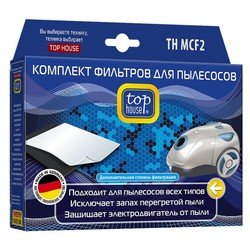 Микрофильтр + моторный фильтр для все типов пылесосов (TOP HOUSE TH MCF2)