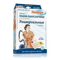 Пылесборник для любой модели мешкового пылесоса (ТАЙФУН ТА 3 UN) (4 шт)