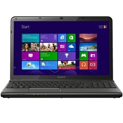 "Sony Vaio SV-E1512W1R/B (Intel Core i5, 2500 МГц, 15.5"", 1366x768, 6144Mb, 640Gb, AMD Radeon HD 7650M, DVD-RW, Wi-Fi, Bluetooth, Win 8 64-bit) Black"