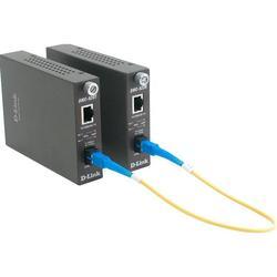 Медиаконвертер 100BASE-TX на 100BASE-FX  D-Link DMC-920T (коричневый)