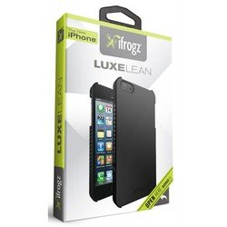 �����-�������� ��� apple iphone 5, 5s (ifrogz ip5ll-blk luxe lean) (������)