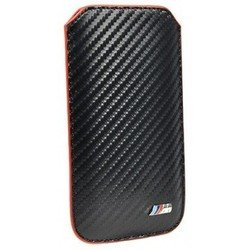 чехол-футляр для apple iphone 5, 5s, se (bmw m-collection bmpop5mc sleeve) (карбон)