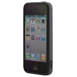 бампер для apple iphone 4, 4s (bone ring ph11061-bk) (черный)