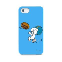 ����������� �����-�������� ��� apple iphone 5, 5s (iluv snoopy sports ica7h383blu) (�������)