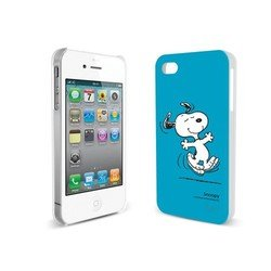 ����������� �����-�������� ��� apple iphone 4, 4s (iluv snoopy icp751sblu) (�����)