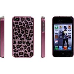 ����������� �����-�������� ��� apple iphone4, 4s (icover ip4/4s-cl-p/p combi leopard) (�������)