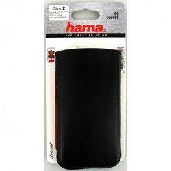 Универсальный чехол-футляр для телефонов (Hama Vicenza H-109105) (черный)