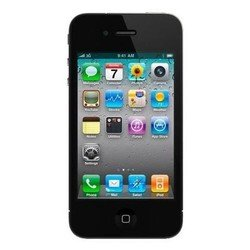 бампер для apple iphone 4, 4s (mc839zm/b) (черный)