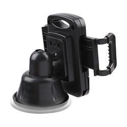 Универсальный автомобильный держатель для устройств шириной от 55 мм до 94 мм (Wiiix HT-02) (черный)