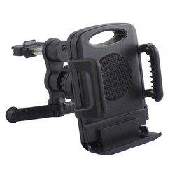 Универсальный автомобильный держатель для устройств шириной от 55 мм до 94 мм (Wiiix HT-02V) (черный)