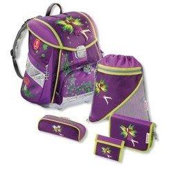 Ранец Step by Step H-103093 школьный Purple Fairy TOUCH с аксессуарами 5 предметов фиолетовый