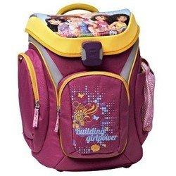 Ранец школьный (Lego Friends All Girl 00124738) (розовый, оранжевый)