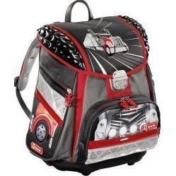 Ранец школьный Step By Step (Motor Truck TOUCH L.E.D. H-119705) (красно-черный)