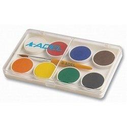 Краски акварельные Adel 24 мм (229-0911-000) (8 цветов)