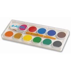 Краски акварельные Adel 24 мм (229-0921-000) (12 цветов)