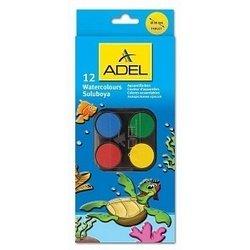 Краски акварельные Adel 30 мм (229-0932-000) (12 цветов)