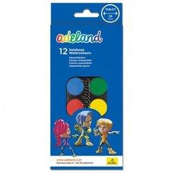 Краски акварельные Adel ADELAND (229-0933-100) (12 цветов)