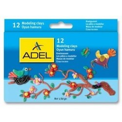 Пластилин Adel (234-0632-000) (12 цветов)